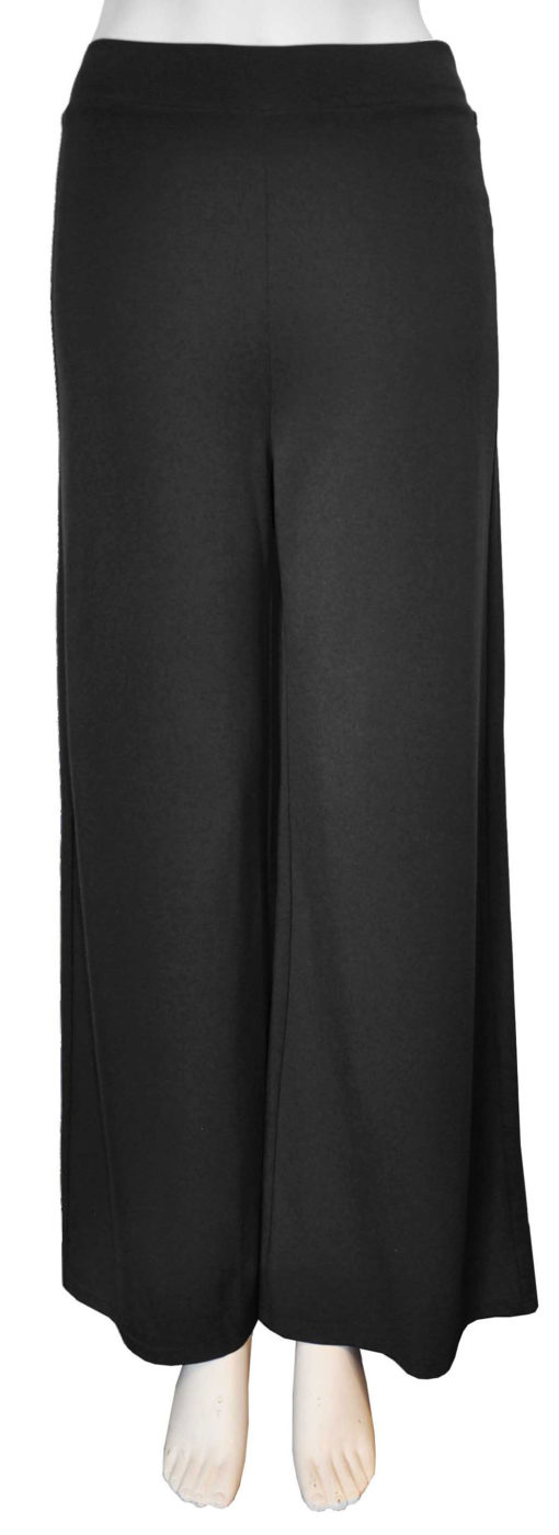 charcoal grey cropped stretch elastic pants- front
