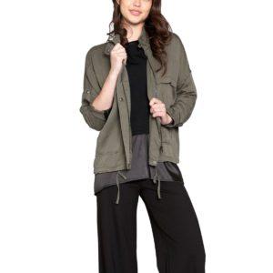 olive green utility jacket army outerwear patrizia luca style Barami fashion fall jacket spring trend love shopping