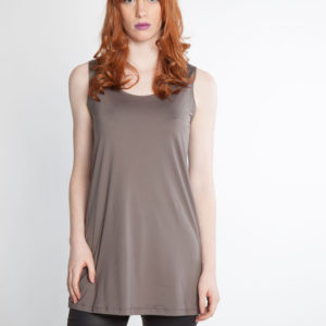 grey basic camisole front