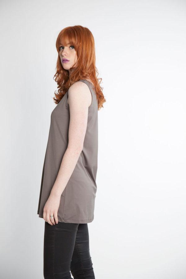 grey basic camisole side