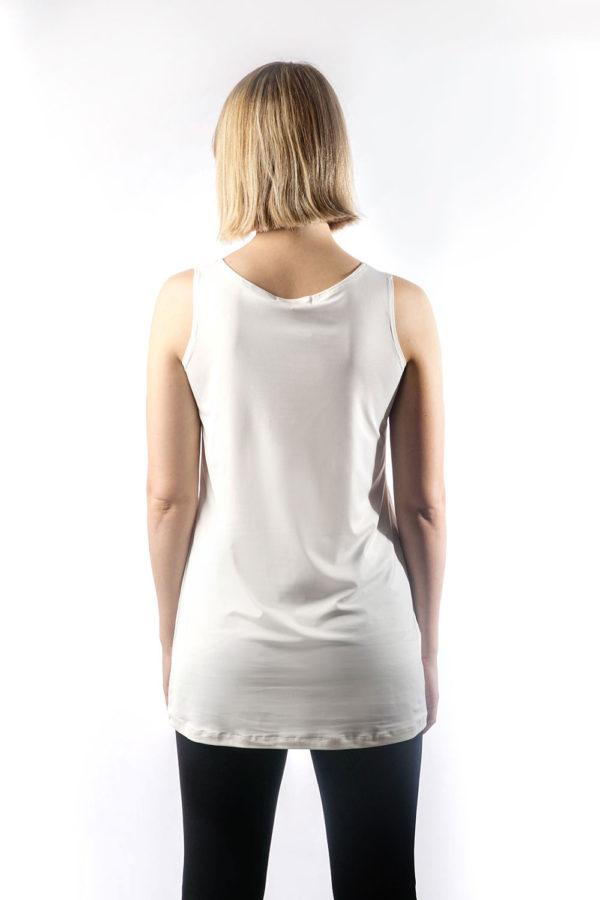 off white basic camisole back