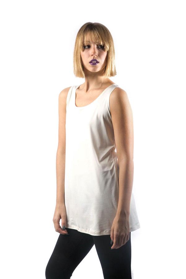 off white basic camisole front