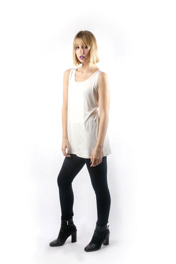 off white basic camisole side
