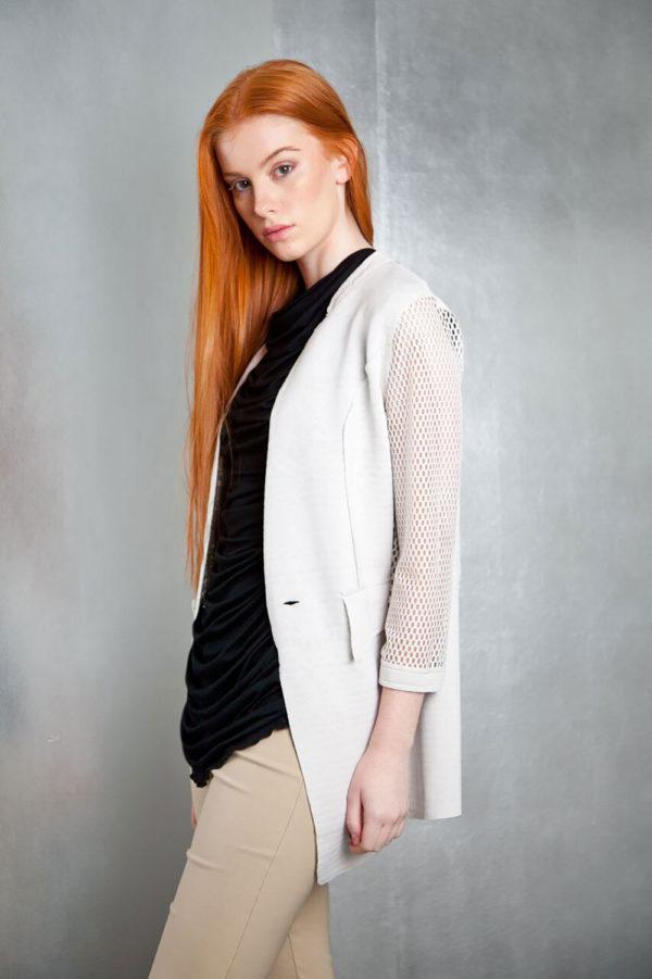 white reversible jacket- side