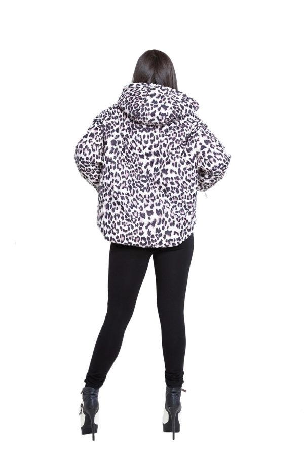 black zip side leggings- back