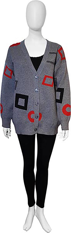 grey knit cardigan- front