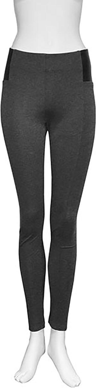 charcoal leggings- front