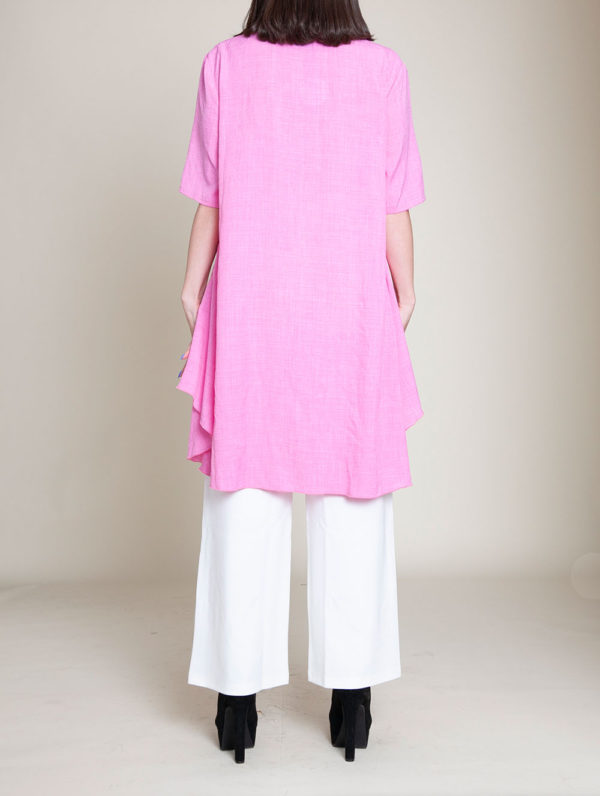 PINK TUNIC TOP- BACK