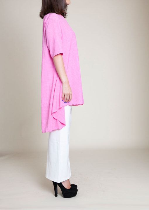 PINK TUNIC TOP- SIDE
