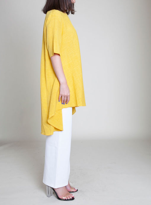 YELLOW TUNIC TOP- SIDE