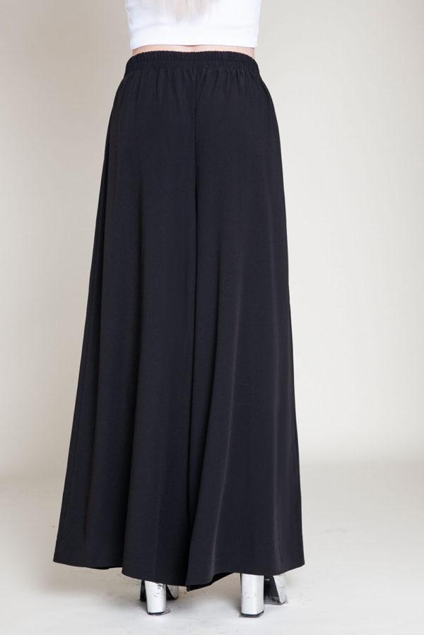 black grommet pants- back