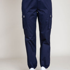 navy cargo pants- front