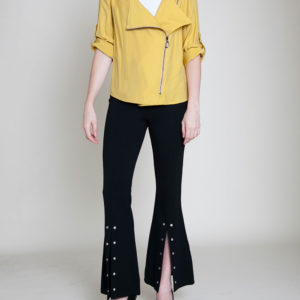 mustard yellow jacket- front