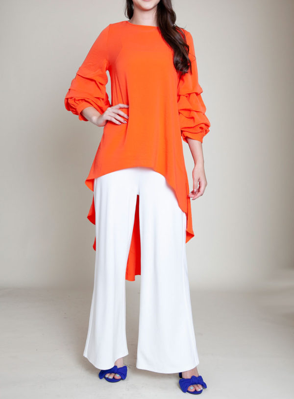 CORAL HIGH LOW TOP- FRONT