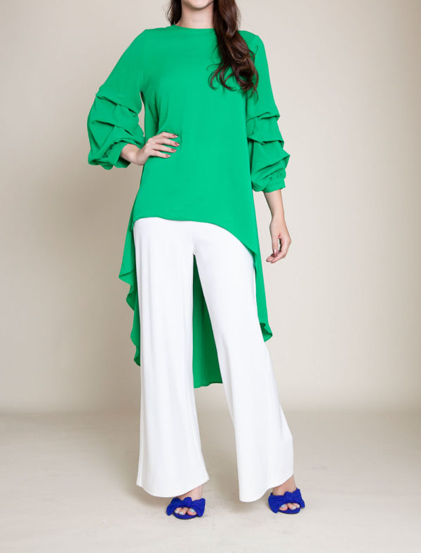 GREEN HIGH LOW TOP- FRONT