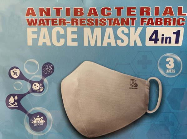 antibacterial face mask
