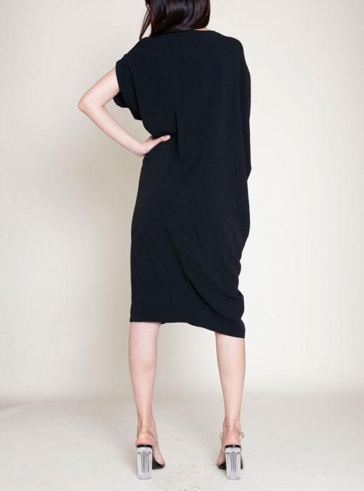 OVERSIZED SMOCK DRESS- BACK