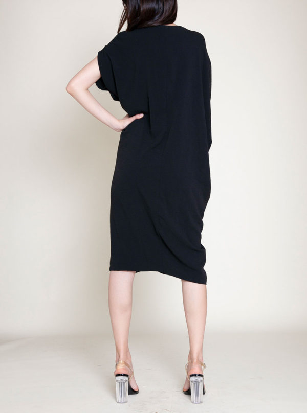 OVERSIZED SMOCK DRESS- BACK