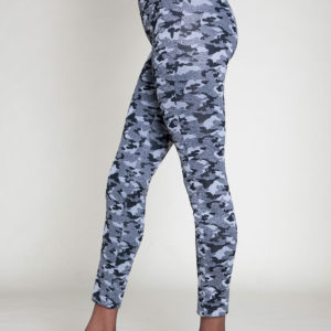 camouflage printed jeggings- side