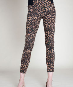 CHEETAH PRINTED JEGGINGS- FRONT