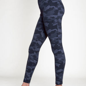 CHARCOAL CAMOUFLAGE PRINTED JEGGINGS- SIDE