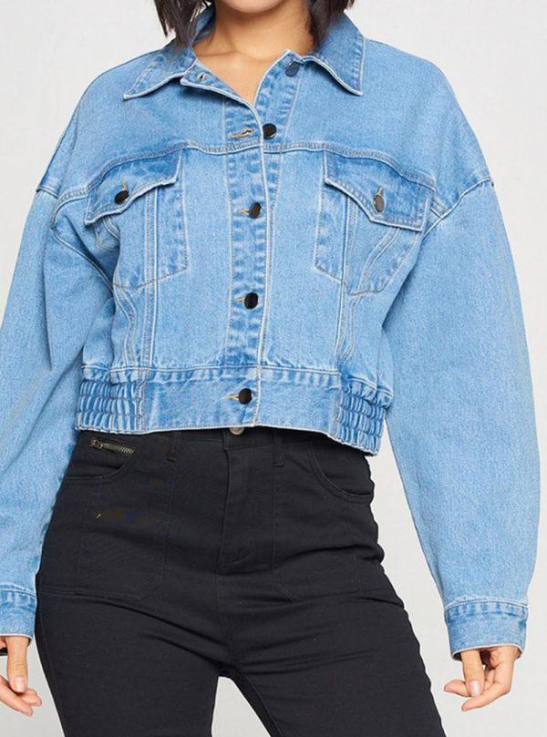 denim jacket- front