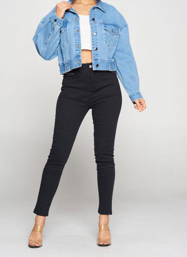 denim jacket- full